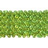 Sequin Stretch 5Row Hologram Lime Green